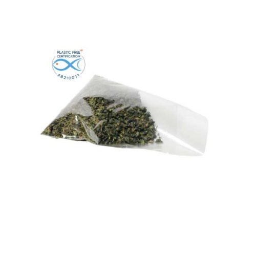 Bustine trasparenti biodegradabili Natureflex™ 80+50x250 mm 500 pz