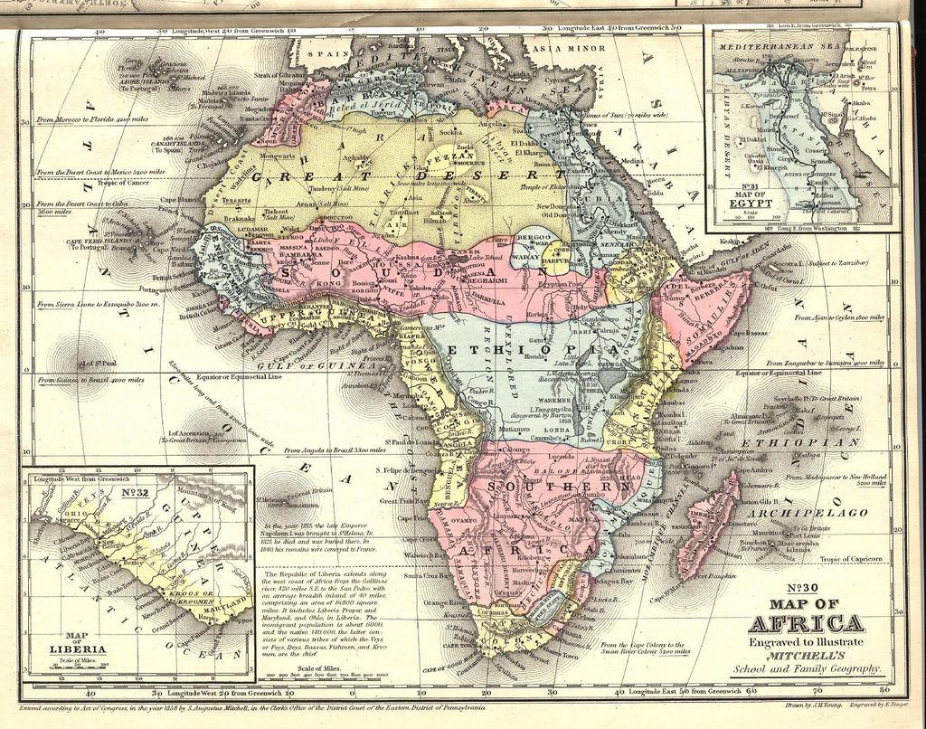 cartina africa