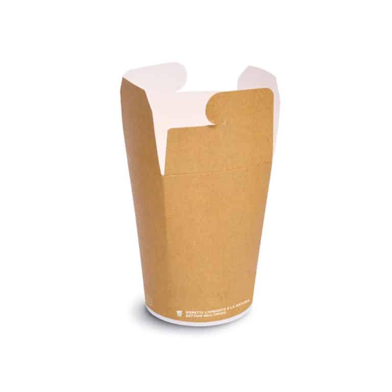 Noodle box per take away in cartoncino 500 ml 480 pz