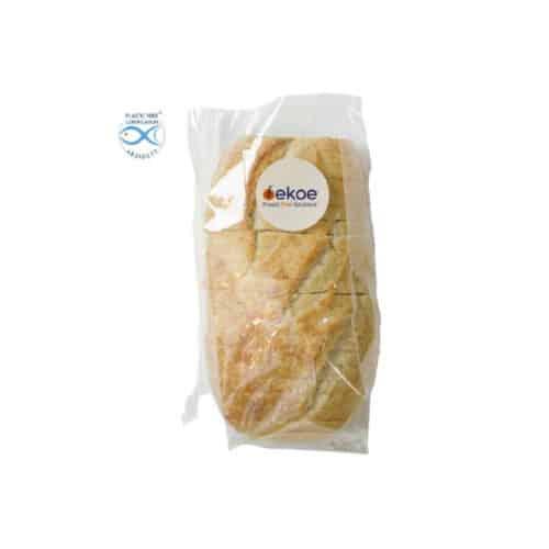 Sacchetti trasparenti per alimenti in Natureflex™ 160+90x360 mm 500 pz
