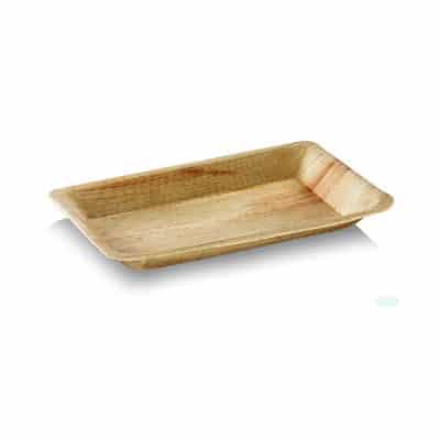 Vaschette in foglia di palma 12x7 cm 400 pz