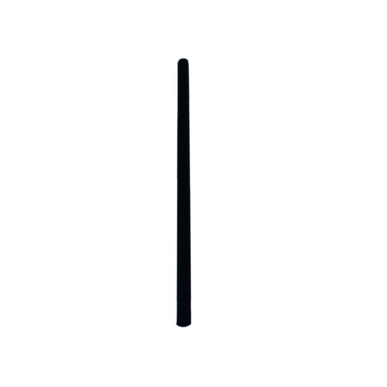 Cannucce nere compostabili 8×250 mm 400 pz