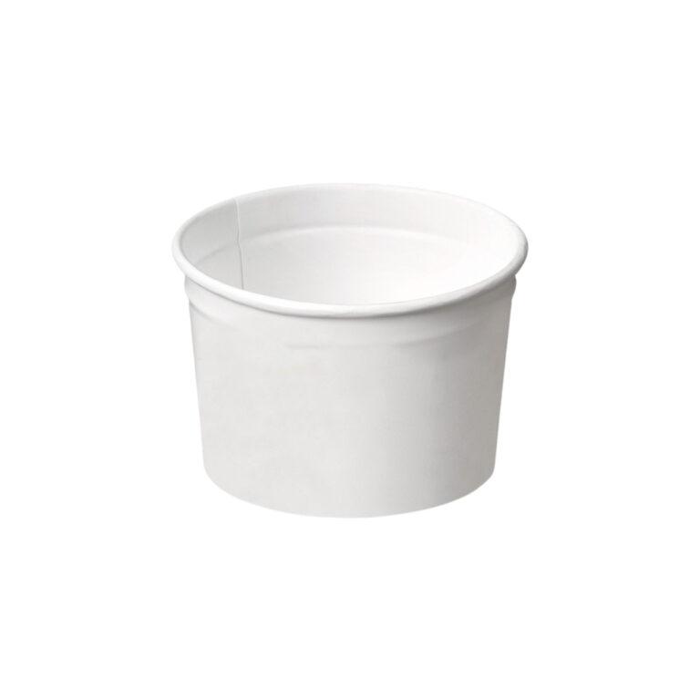 Coppette gelato in cartoncino e PLA 245 ml 960 pz