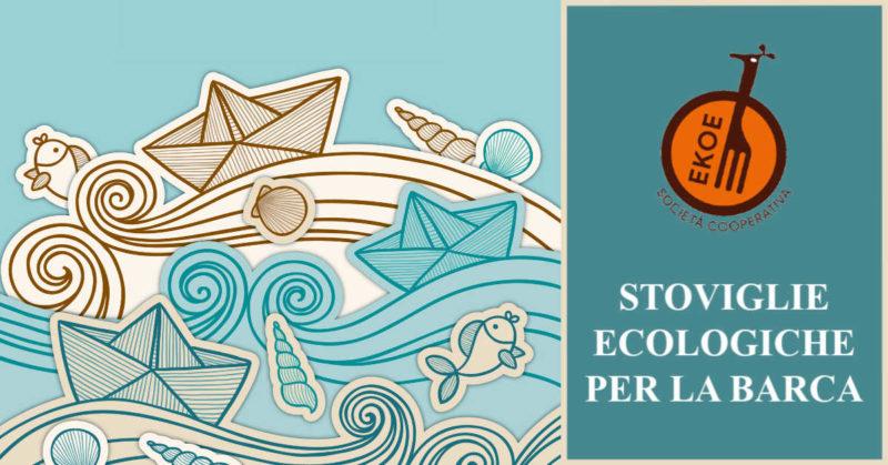 stoviglie ecologiche per la barca