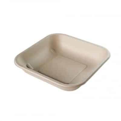 vaschetta quadrata in polpa