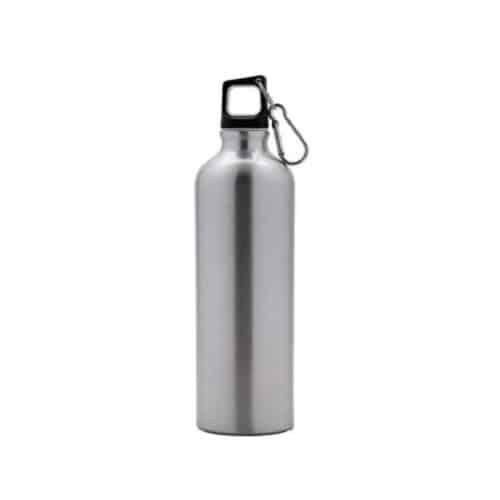 Bottiglia in alluminio ml 750 acciaio