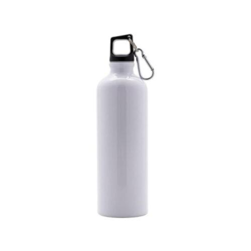 Bottiglia in alluminio ml 750 bianca