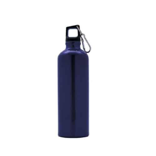 Bottiglia in alluminio ml 750 blu