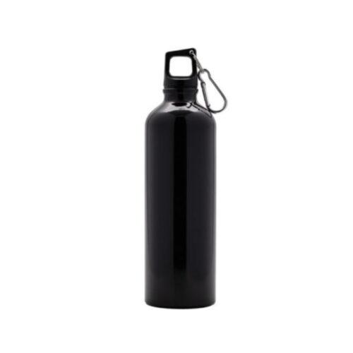 Bottiglia in alluminio ml 750 nera