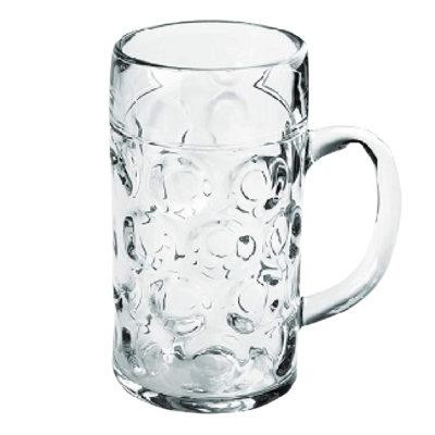 Bicchieri Birra in SAN trasparente 1000 cc 6 pz
