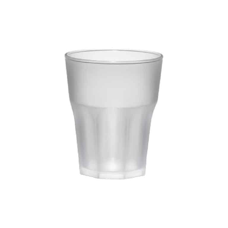 Bicchieri Granity in SAN effetto Frost 425 cc 75 pz