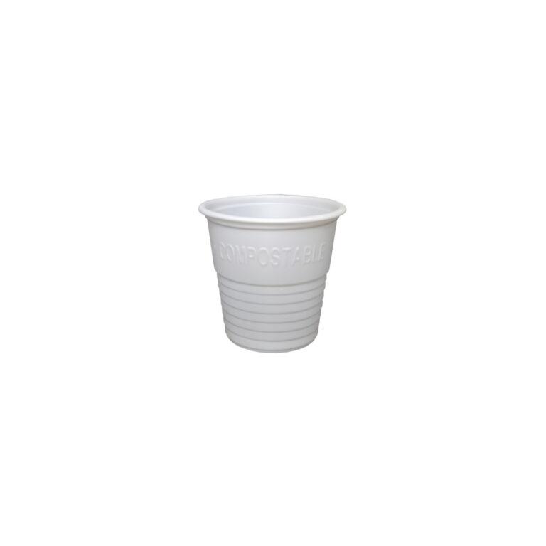 Bicchierini caffè biodegradabili CPLA 80 ml 100 pz