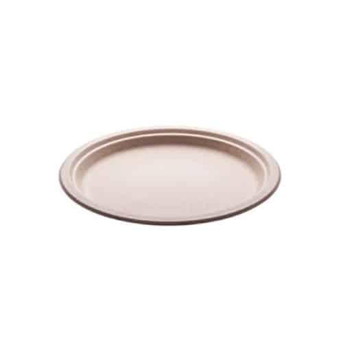 Bio-piatti-biodegradabili-e-compostabili-piani-cm.-18-avana