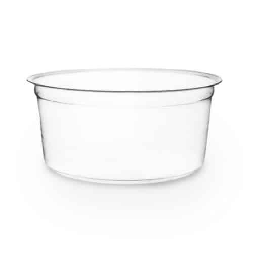 Contenitori per alimenti freddi in bioplastica 700 ml 100 pz