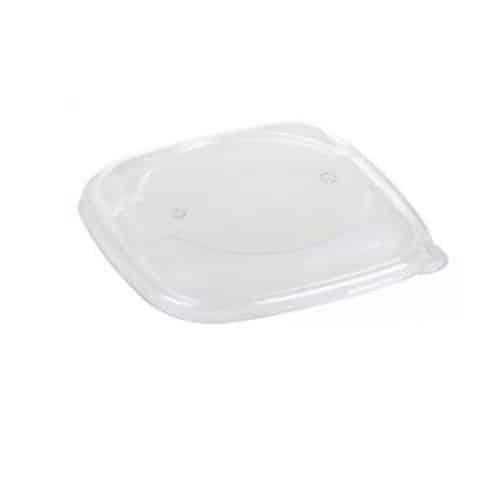 Coperchi-quadrati-trasparenti-impilabili-in-PLA-per-piatti-fondi-compostabili