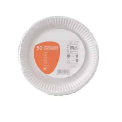 Piatto-in-cartoncino-compostabile-foderato-in-Bio-coated-cm.23