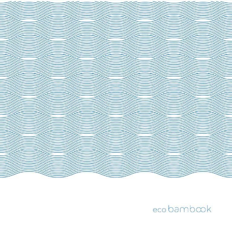 Tovaglia linea Bambook color levante blu 100x100 cm 40 pz