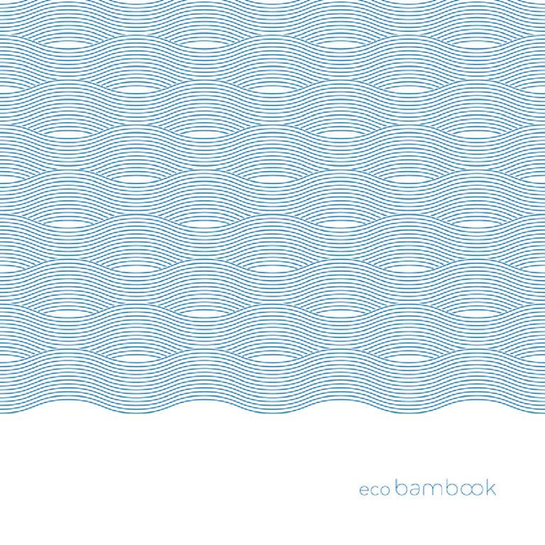 Tovagliolo in Bamboo color blu 40x40 cm 200 pz