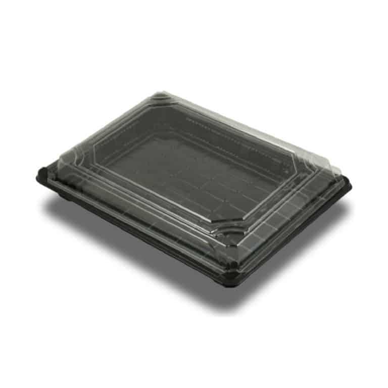 Vassoi per Sushi in bioplaspica 24,5 x 15 x 4 cm 300 pz