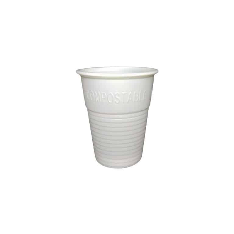 Bicchieri in PLA biodegradabili economici 200 ml 100 pz