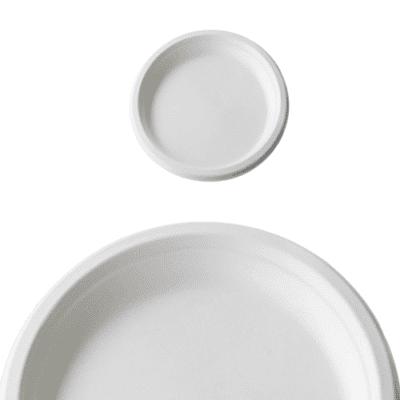 Bio piatti personalizzati biodegradabili e compostabili