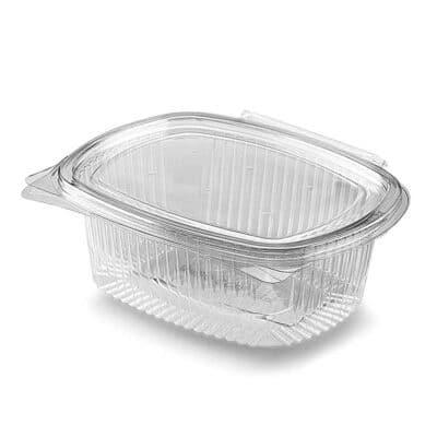 Vaschette con coperchio personalizzate in Pla trasparenti 1000 ml 200 pz