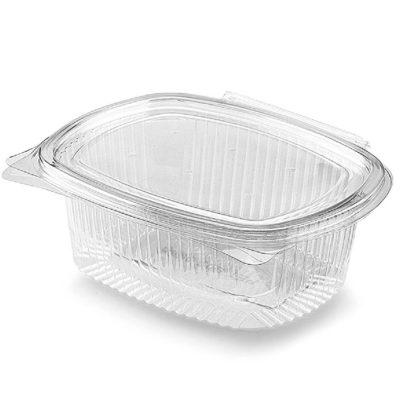 Vaschette con coperchio personalizzate in Pla trasparenti 1500 ml 250 pz