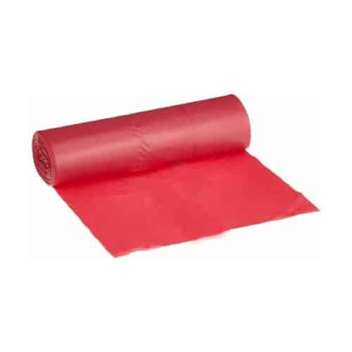 Sacchi immondizia colorati rossi 75x105 cm da 300 pz