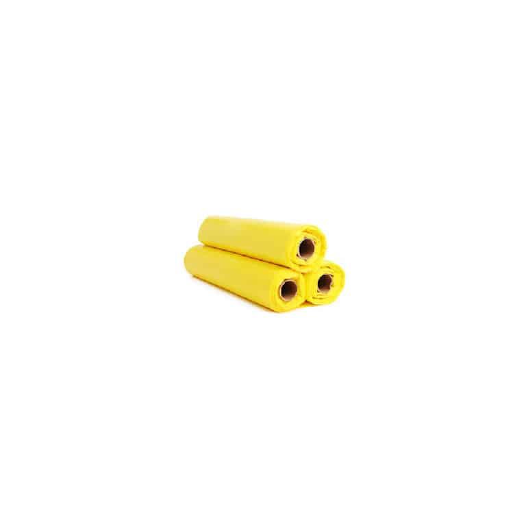 Sacchi immondizia piccoli gialli 50x60 cm da 1200 pz