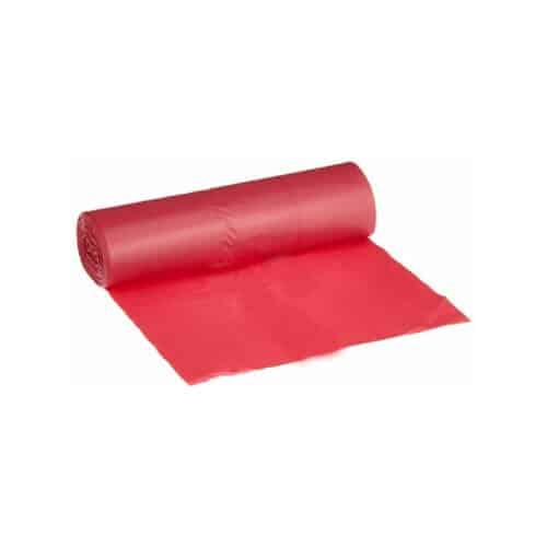 Sacchi immondizia piccoli rossi 50x60 cm da 1200 pz