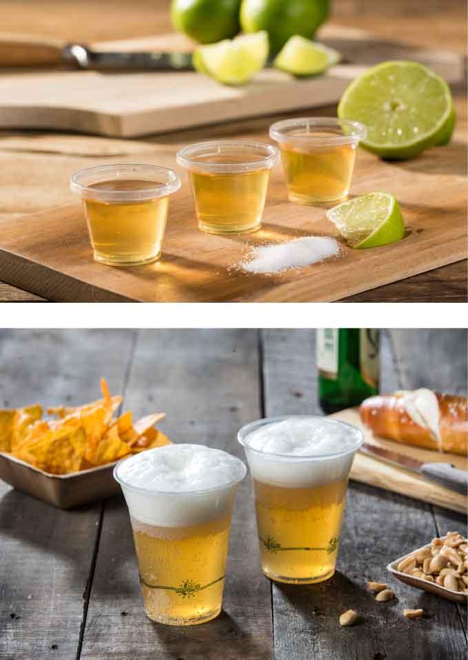 Bicchieri biodegradabili e compostabili ml. 625 Eco