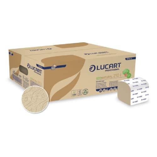 Carta igienica interfogliata avana 40 confezioni da 210 fogli
