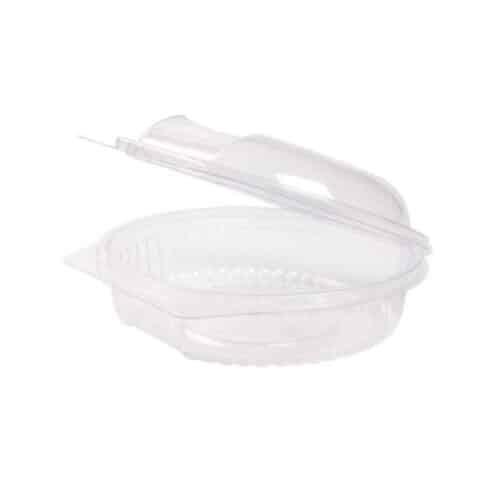 Insalatiere con coperchio in PLA ml 500 100 pz