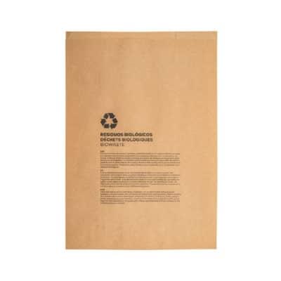 Sacchetti compostabili per umido 26+14x25 cm 500 pz