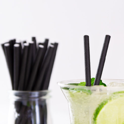 Cannucce da cocktail compostabili