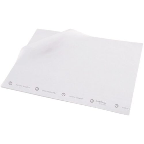 carta antiunto bianca 25x38