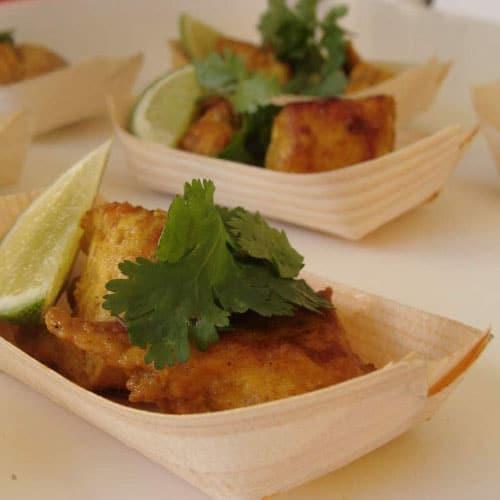 Barchette per finger food