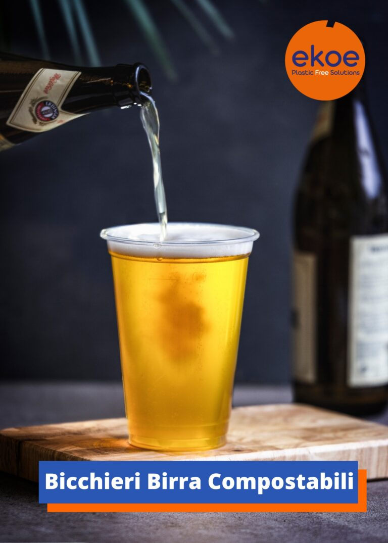 Bicchieri Birra Compostabili