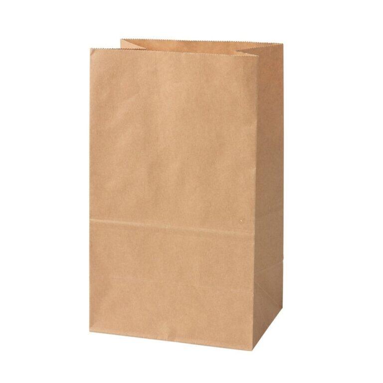 sacchetto carta kraft 15x10x25 cm